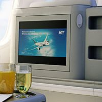 Business Class im Boeing 787 Dreamliner © LOT Polish Airlines
